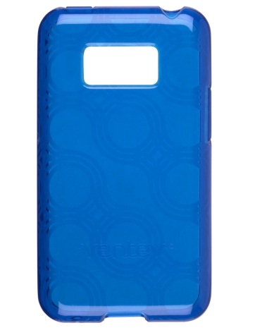 Wireless Solutions Circuit-Patterned Dura-Gel Case for LG LS696 Optimus Elite - Blue