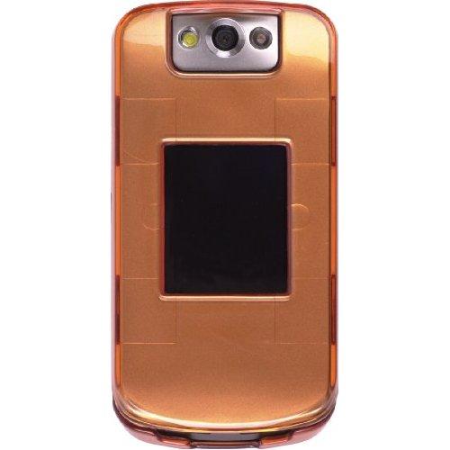 Wireless Solutions Snap-On Case for BlackBerry 8230 Pearl Flip - Tangerine