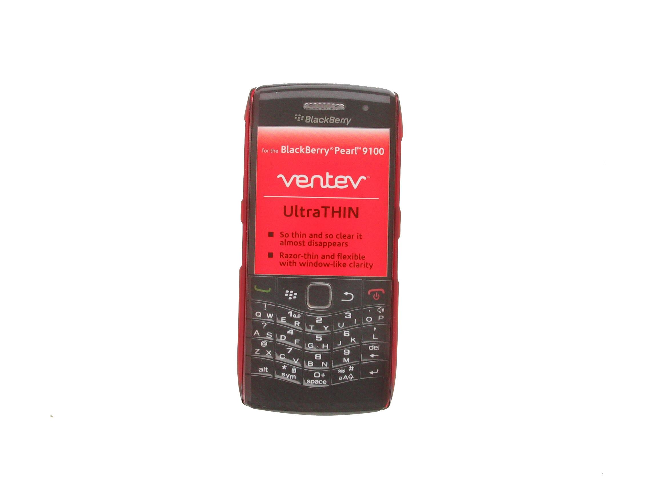 UltraTHIN Case for Blackberry 9100 Pearl (Red)