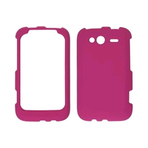 Wireless Solutions Soft Touch Snap-On Case for Motorola Wildfire S - Plum Pink
