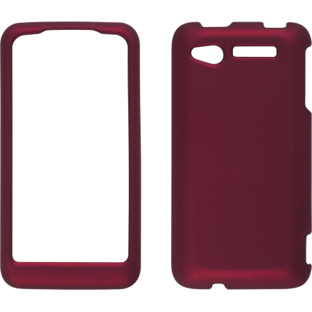 Wireless Solutions Soft Touch Snap-On Case for HTC Merge - Red