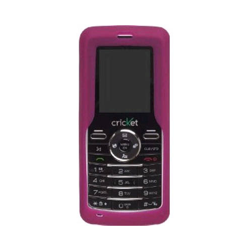 Wireless Solutions Silicone Gel Case for Cal-Comp Cricket A100 - Raspberry