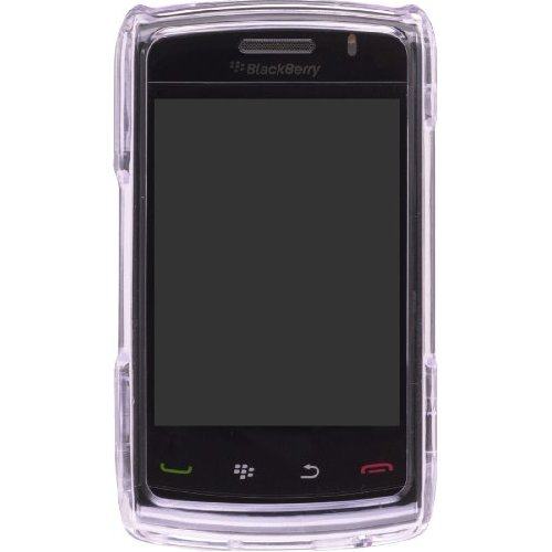Wireless Solutions Snap-On Case for RIM BlackBerry 9520 - Clear