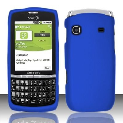 Sprint Soft Touch Snap-On Case for Samsung M580 Replenish - Blue