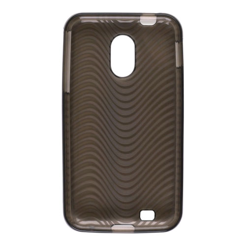 Wireless Solutions Waves Dura-Gel Case for Samsung Galaxy S2 EPIC Touch D710 - Smoke