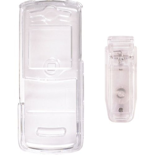 Wireless Solutions Snap On Case for Motorola VE240 - Clear