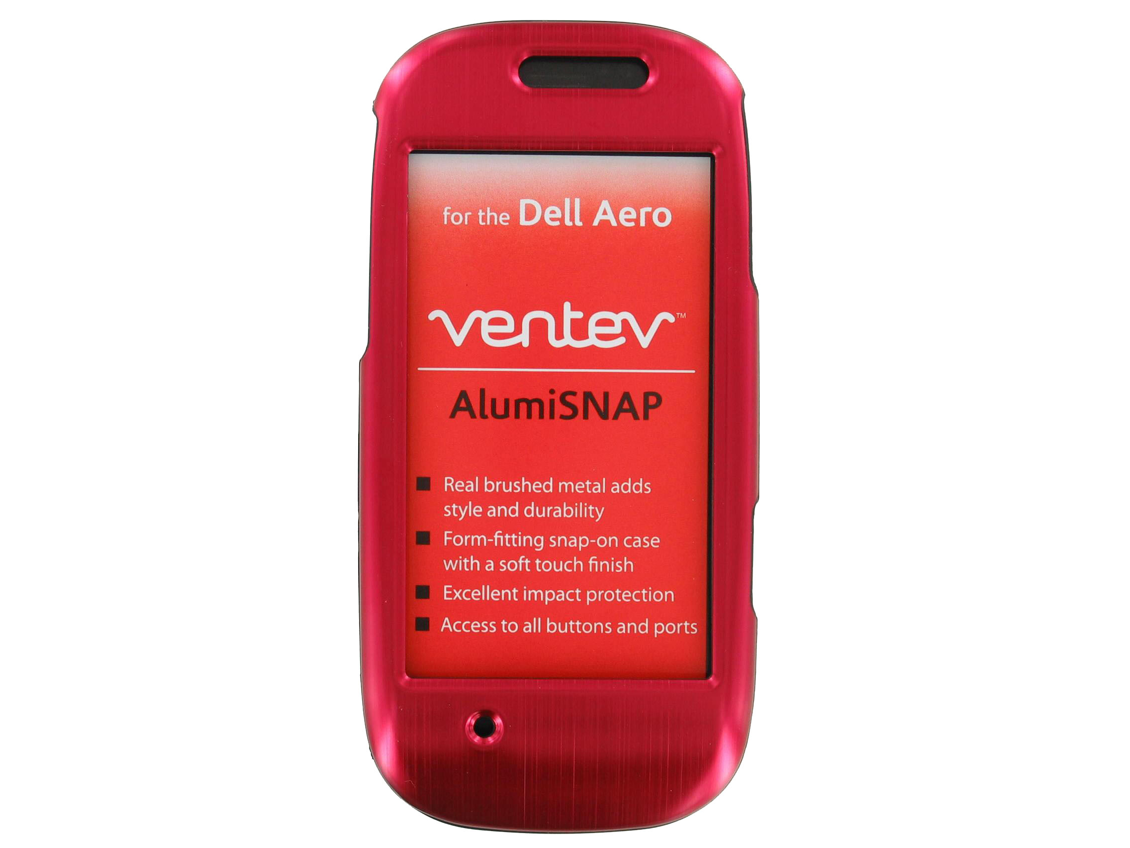 Ventev AlumiSNAP Case for Dell Aero (Red)