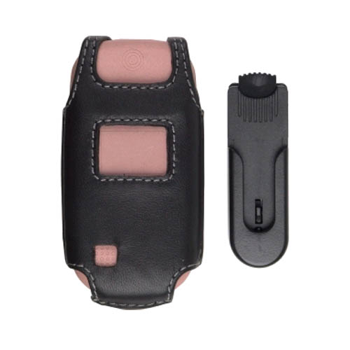 Swivel Clip Leather Case for UTStarcom CDM-8935