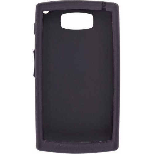 Wireless Solutions Silicone Gel Case for Samsung Epix SGH-I907 - Black