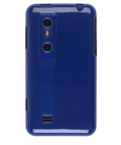 Ventev - Dura-Gel Case for LG P925 Thrill 4G - Blue
