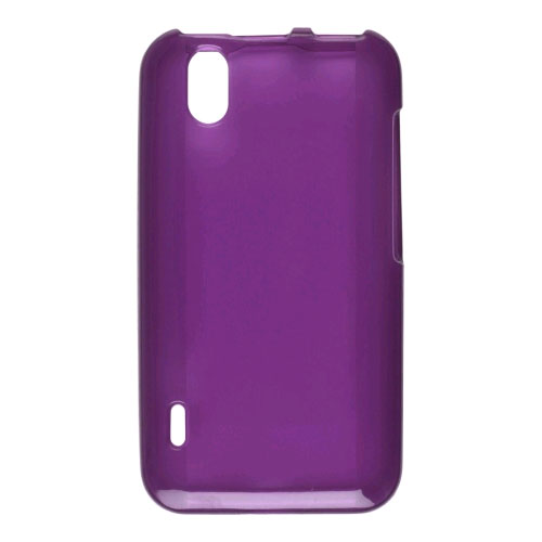 Wireless Solutions Dura-Gel Case for LG Marquee, Ignite AS-855 - Eggplant