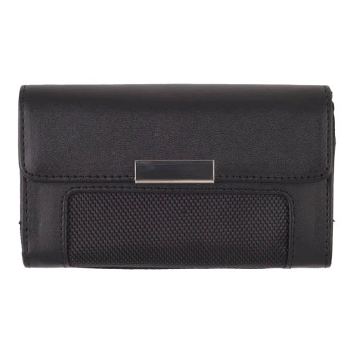 Universal Horizontal Leather Case for HTC EVO 4G Droid X, iPhone 4 - XXL for Oversized Handsets