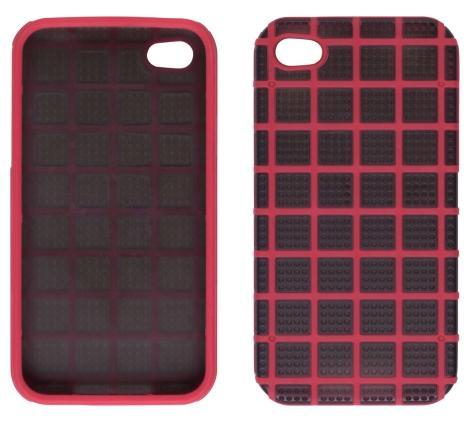 Ventev GridX Case for Apple iPhone 4/4S (Black/Red)