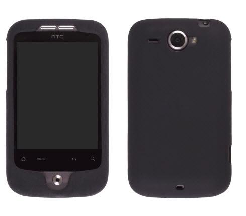 HTC Wildfire (GSM) Silicone Gel Black