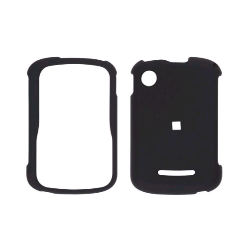 Wireless Solutions Two Piece Soft Touch Snap-On Case for Motorola WX404 Grasp Push - Black