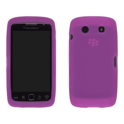 Silicone Gel Case for Blackberry Torch 9850 - Pink
