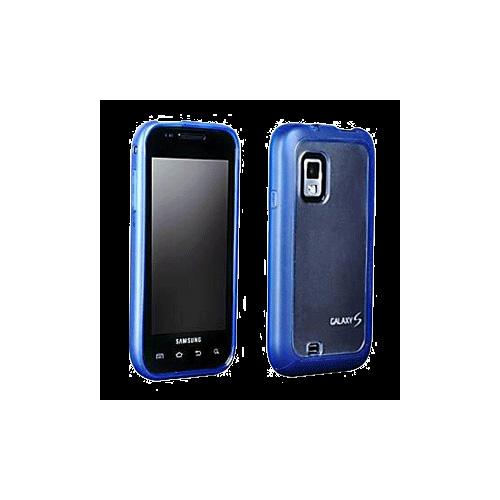 Generic Plastic TPU Case for Samsung SCH-i500 Fascinate (Blue) - 03997