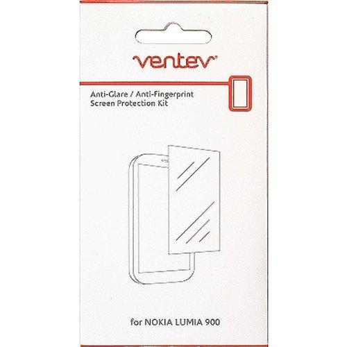 Ventev Anti-Glare Anti-Fingerprint Screen Protector for Nokia Lumia 900 - Clear (2 pack)