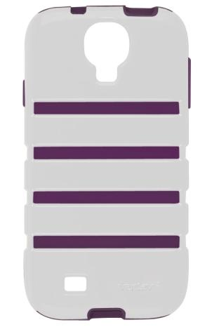 Ventev ShockGuard Case for Samsung Galaxy S4 (White/Purple)