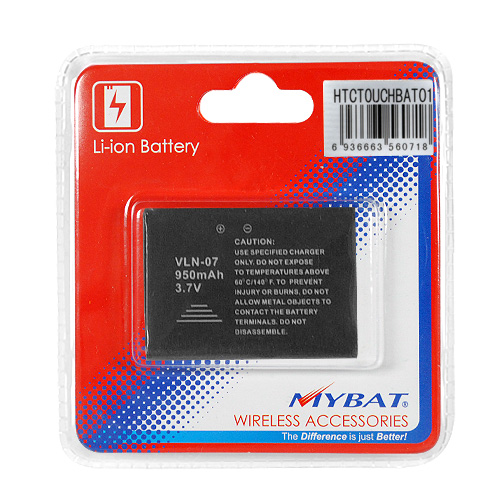 HTC Touch (CDMA) / XV6900 Standard Replacement Li-Ion Battery 950 mAh