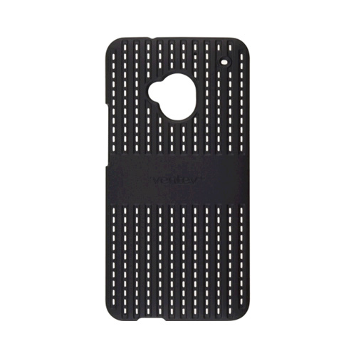 Ventev Color click Air Case for HTC One - Black