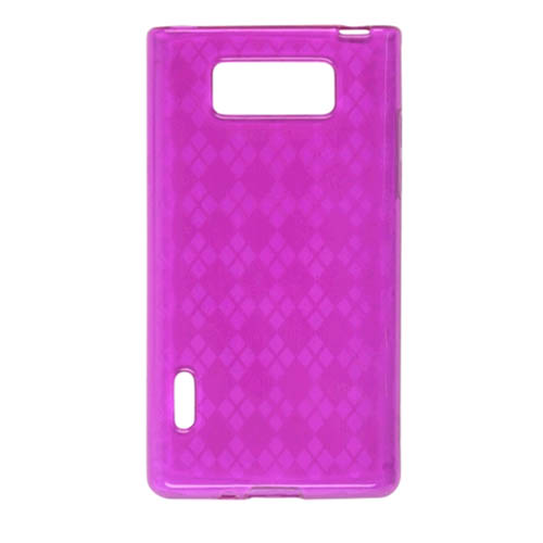 Ventev Dura-Gel Case for LG AS730 (Pink) - 572658