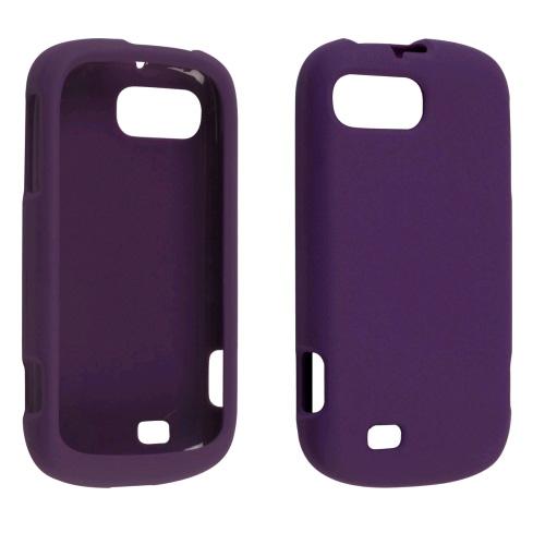 Ventev Soft Touch Snap-On Case for ZTE Chantel/N850L (Purple)