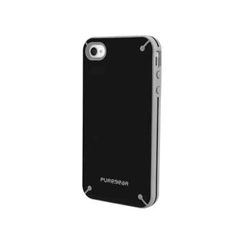 Puregear Slim Shell Case for Apple iPhone 4 (Black Tea) - 60022PG