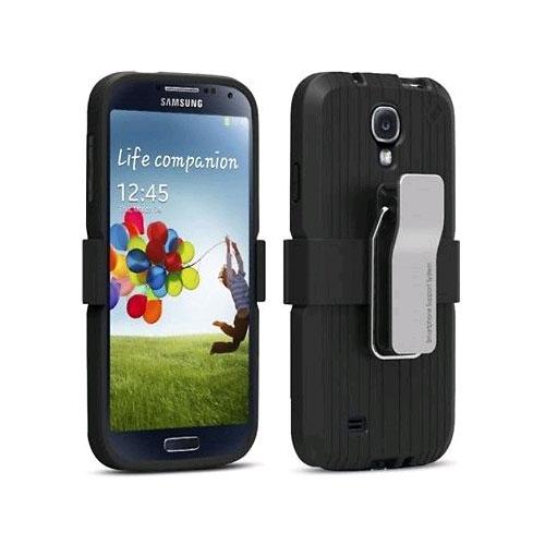 Puregear Utilitarian Support Case Holster for Samsung Galaxy S4 - Black