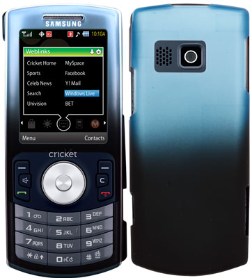 Xentris Hard Shell for Samsung MyShot II R460 (Gradient Blue/Black)
