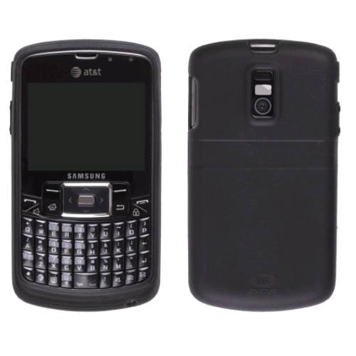 AGF Premium Black Gel Skin Case for Samsung Jack SGH-i637