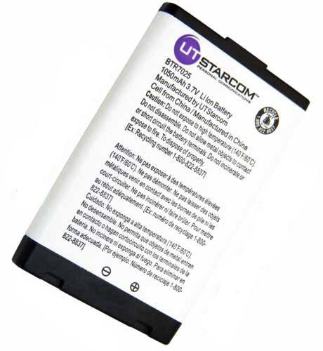 UTStarcom BTR7025 Standard Li-Ion Battery DC0805078LP