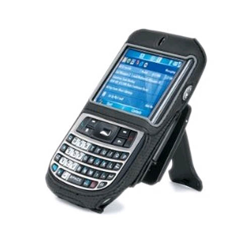 Body Glove - Case with Detachable Locking Belt clip and Stand for HTC Dash S620 - Black