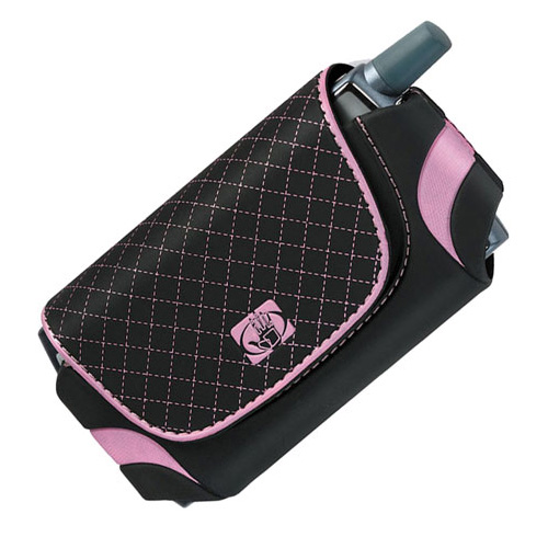 Body Glove Universal Case for Blackjack Treo Moto Q Blackberry (Black / Pink)