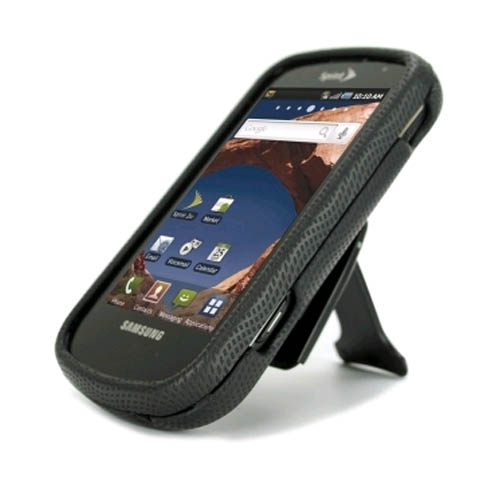 Body Glove Snap-On Case with Belt Clip for Samsung Epic 4G - Black
