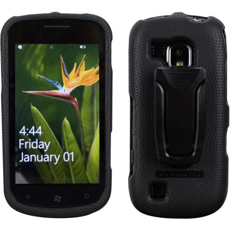 Body Glove Snap-on Case with Belt Clip for Samsung 1917 Fucos - Black