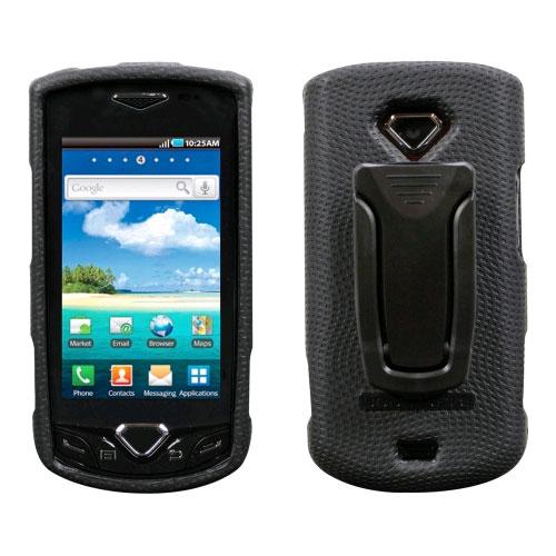 Body Glove Snap-On Case with Kickstand Belt Clip for Samsung Gem SCH-i100 (Black)
