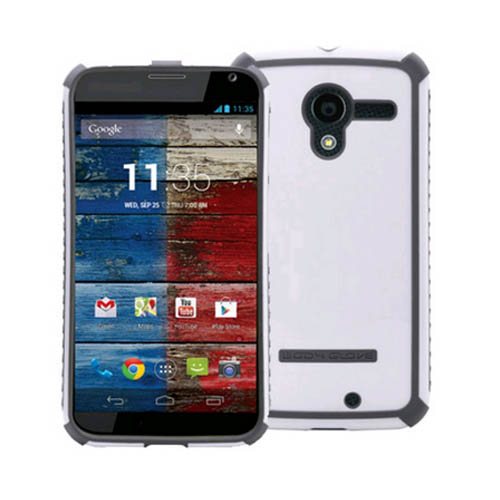 Body Glove Tactic Series Case for Motorola Moto X (White/Charcoal) - 9371301