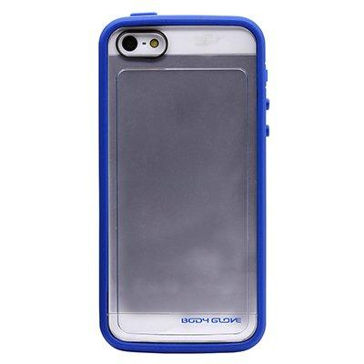 Body Glove MySuit Case for Apple iPhone 5S (Blueberry / Clear)