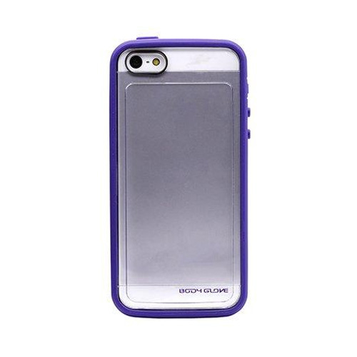 Body Glove MySuit Case for Apple iPhone 5/5S (Grape / Clear)
