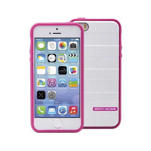 Body Glove Rise Case for Apple iPhone 5/5S (Rasberry / White Shimmer)