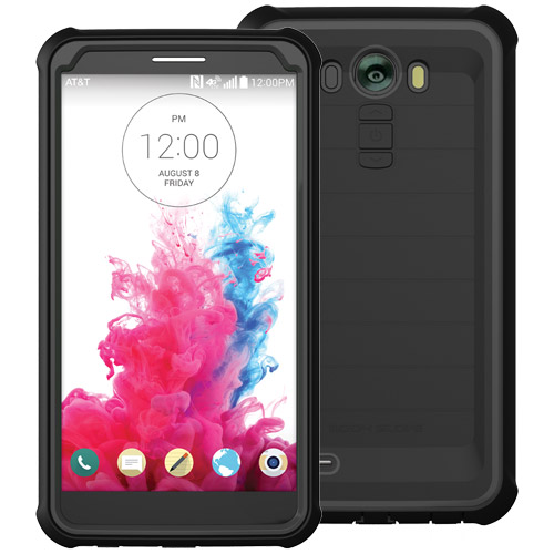 Body Glove ShockSuit Case with Flat Back for LG G3 - Black