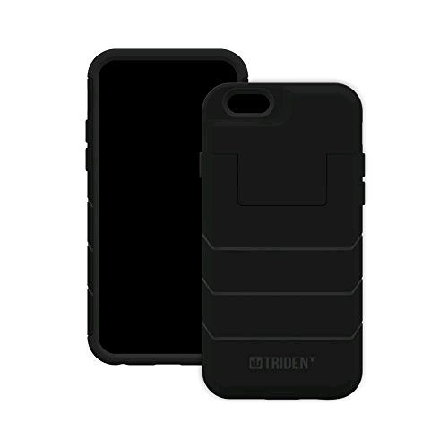 Trident Aegis Wallet Case Cover for Apple iPhone 6/6s in Black - AG-API647-BKW00
