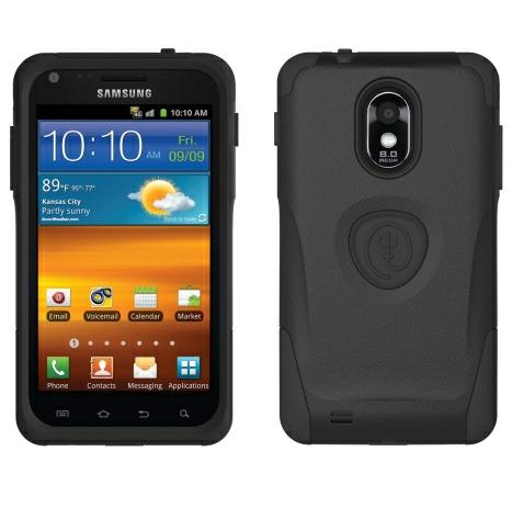 Trident Aegis Case for Samsung Epic Touch 4G D710, Galaxy S II R760 (Black)