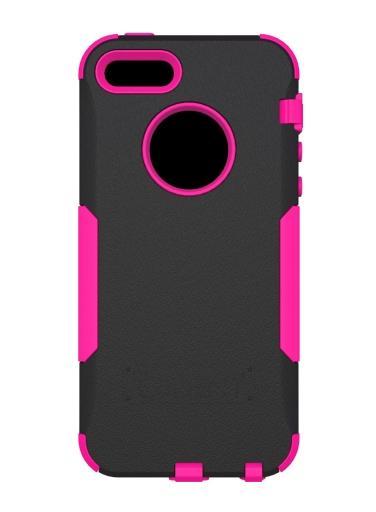 Trident Aegis Case for Apple iPhone 5/5s - Black/Pink