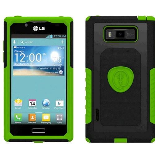 Trident Aegis Case for LG Splendor AS730/US730 (Green/Black) - AG-LG-SPLDR-TG