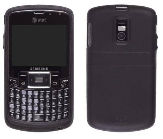 AGF Premium Silicone Gel Skin for Samsung Jack SGH-i637 - Black