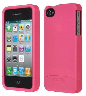 Incipio EDGE PRO Hard Shell Case for Apple iPhone 4/4S - Soft-Touch with Stand (Pink)