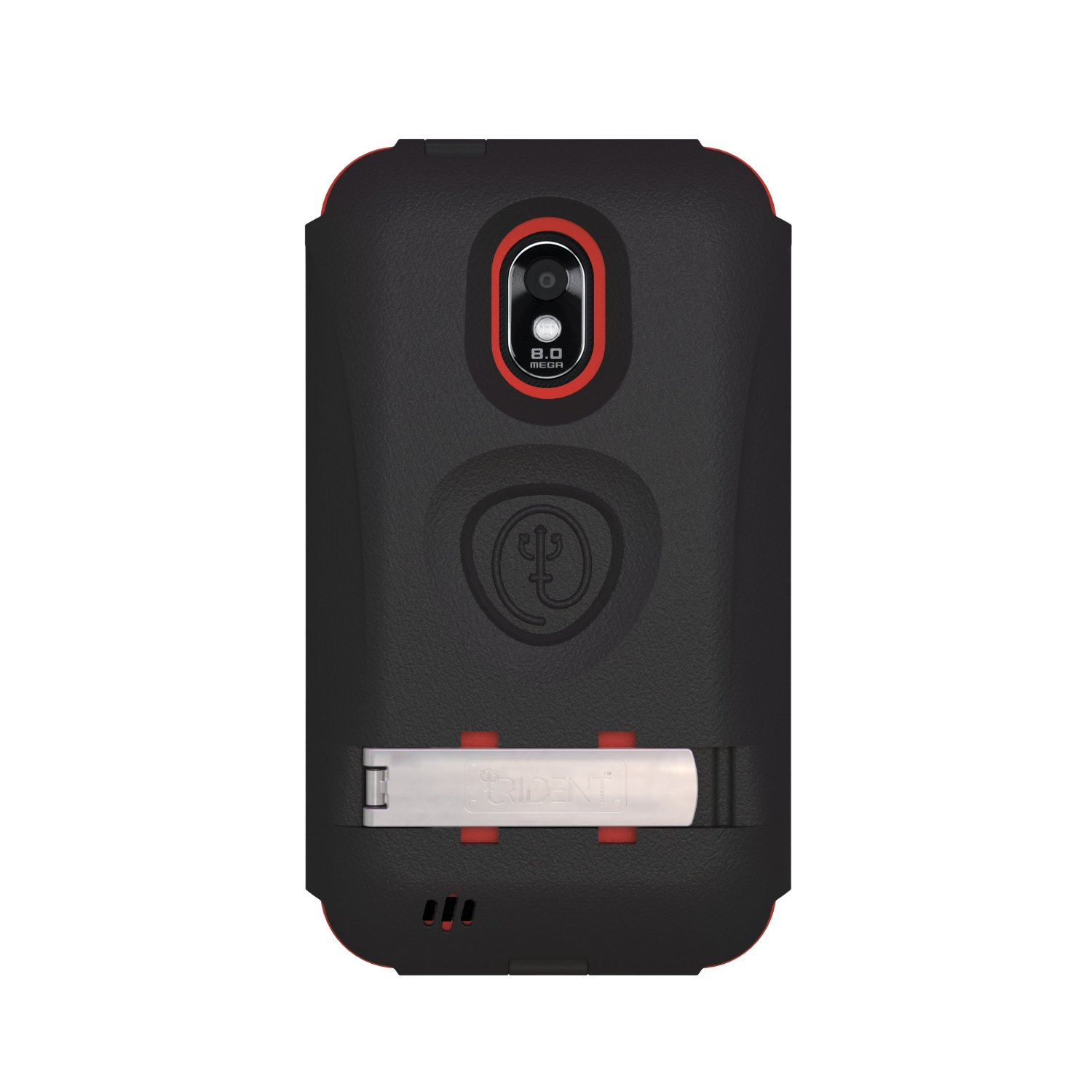 Trident Kraken AMS Case for Samsung Galaxy S2 Epic 4G Touch D710 - Red