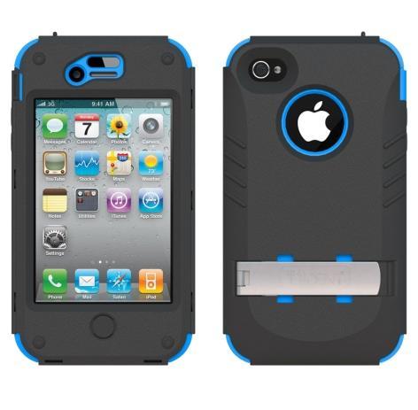 Trident Kraken AMS Case for Apple iPhone 4/4S - Blue/Black